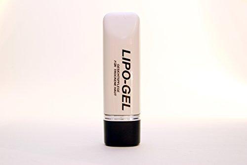LIPO-GEL 100 ml, reines Feuchtigkeitsgel frei von Mineralöle, für Männer direkt nach der Rasur. Sehr feuchtigkeitsbindend, enthält hautirritations-mildernde Substanzen.