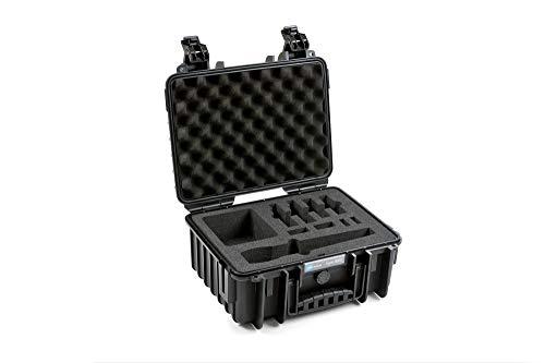 B&W outdoor.cases Typ 3000 mit Hartschaumeinlage für 2 Senheiser AVX Systeme - Das Original