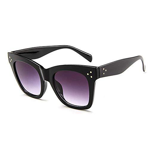 AugSep Gafas de sol cuadradas de gran tamaño para las mujeres del diseñador de moda grandes sombras degradadas mujeres gafas de sol negro AG-UK-A202113226