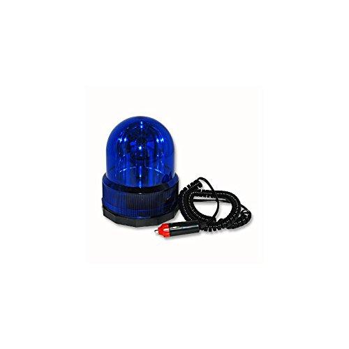 Preisvergleich Produktbild Relaxdays Rundumleuchte 12V Blau mit Magnetfuß