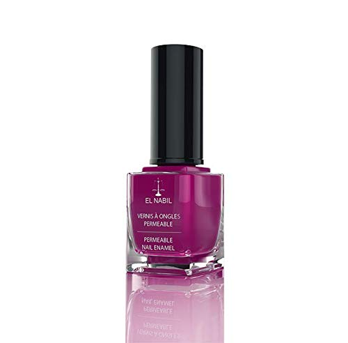 Nagellack Halima Dunkelrosa 13ml - El-Nabil - Nail Polish Helal für Frauen - mit UV Filter
