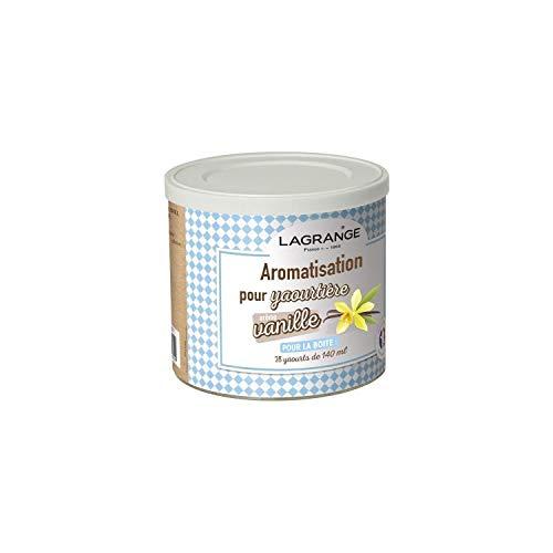 Lagrange - 380310 - Pot de 425g arome vanille pour yaourtiŠre