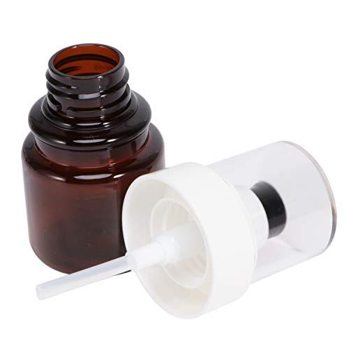 TOPBATHY 3 Pcs 40 Ml Vide Pompe Bouteilles Huile Essentielle Parfum Essence Distributeurs Liquide Lotion Flacons Maquillage Cosmétique Stroage Bouteilles
