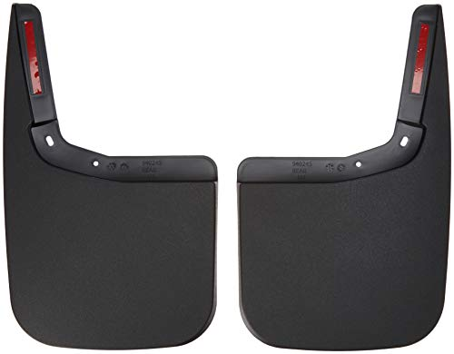 2015-2018 Ford F-150 Mud Flaps Guards Splash Rear Molded 2pc Pair (Without Fender Flares)