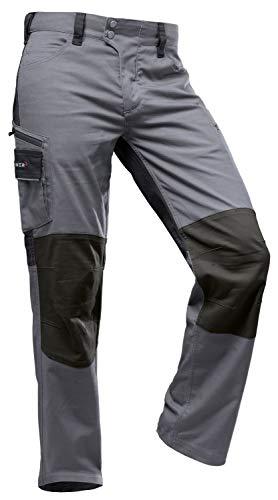 Pfanner StretchFlex Canfull Arbeitshose (grau/schwarz), 56