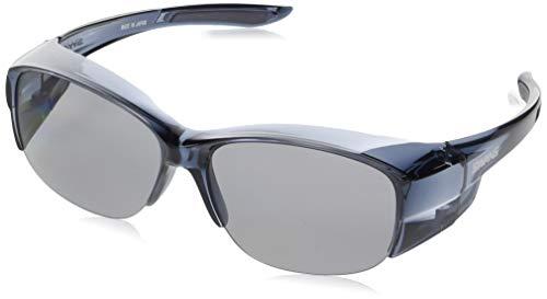SWANS(スワンズ) サングラス メガネの上からかける オーバーグラス 偏光レンズモデル OG5-0051 SCLA スモーククリア