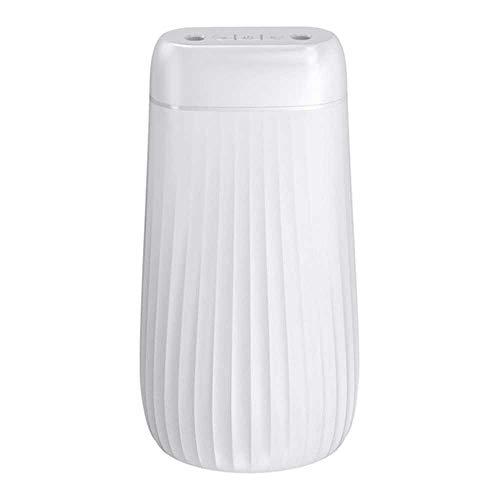 YSNMM Luftbefeuchter 1000Ml Ultraschall Doppel Düse Aroma Diffusor Licht Nebel Home Office Auto