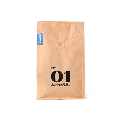 Espresso N°01 – Klassischer Espresso – Feinster Arabica Robusta Blend – Kaffee-Bohnen für Vollautomaten und Siebträger (250 g)