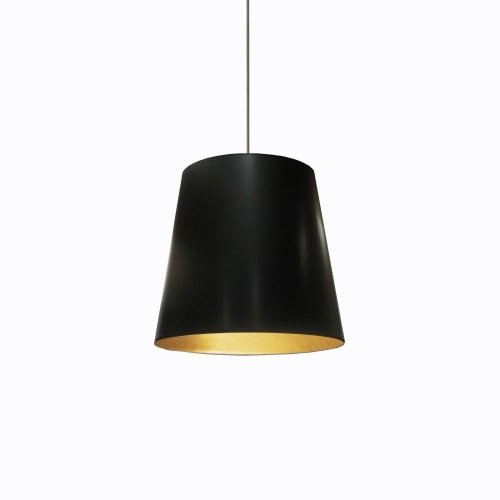 1-Light Oversized Drum Pendant