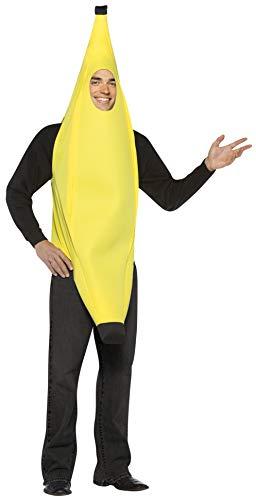 Rasta Imposta Lightweight Banana Costume, Yellow, One Size