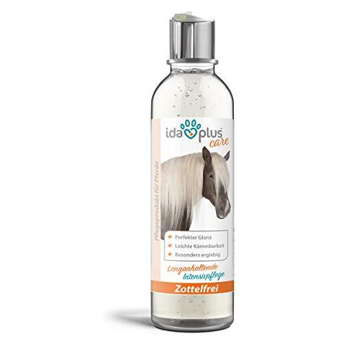 Ida Plus 200 ml – lozione per coda e criniera per cavalli – ad alte prestazioni – pettinare e maffi leggeri – per una cura ottimale dei cavalli – lozione lucida per una lucentezza unica del pelo