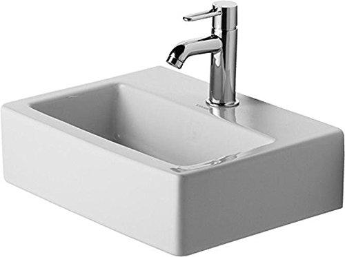 Duravit Handwaschbecken Vero Med 450 mm, ohne Überlauf, 1 Hahnloch, weiß, 0704450041