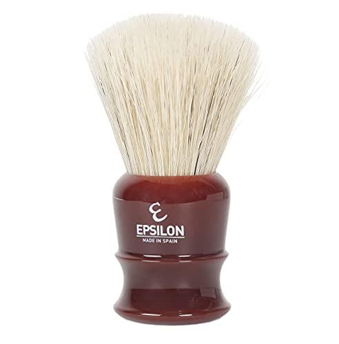 "Epsilon de Caballo Blanco ""Fan Shape"" con nudo de 27mm y mango resina burdeos"