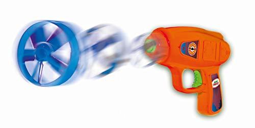 Paul Günther 1693 - Propellerspiel Mini Twist , Flugspiel-Set für Kinder ab 5 Jahren, mit Startpistole und 4 Rotoren, idealer Spielspaß für Kinder und Erwachsene
