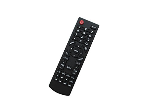 Easytry123 Remote Control for Insignia Dynex DX-19LD150A11 RC-401-0A DX-LDVD22-10A DX-LDVD19-10A DX26LD150A11A DX26LD150A11B LCD LED HDTV TV
