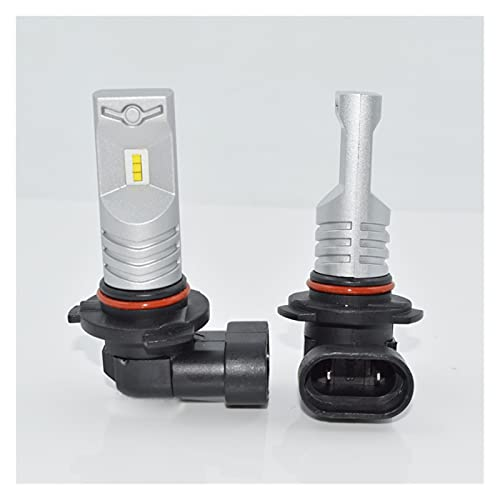 led para Autos 2 unids LED Faro del Coche LED Auto Fog LÁMPARA Accesorios DE Accesorios LED LED Iluminación de conducción Blanco 6000K 3200LM 12V 9005 / HB3 led para Coches (Socket Type : 9005/HB3)