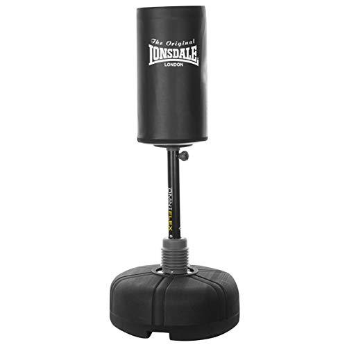 Lonsdale Unisex Omniflex Free Standing Punch Bag Sports Training Workout Sport Black One Size