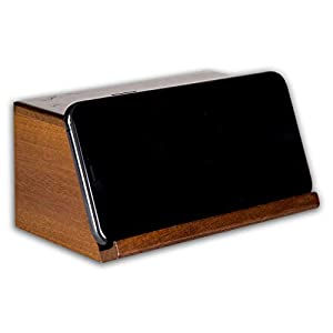 On Trend Goods Boom Brick 2.0 Brown Portable Cell Phone Induction Speaker Play Music Anytime Anywhere