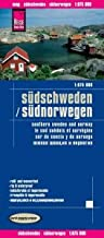 Scandinavia South (Southern Sweden and Norway) 1:875,000 waterproof map REISE