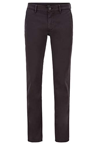 BOSS Herren Schino-Slim D Slim-Fit Casual-Chino aus angerauter Stretch-Baumwolle