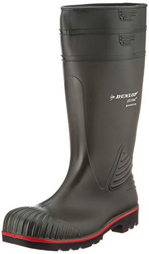 Dunlop Protective Footwear Acifort Heavy Duty full safety Unisex-Erwachsene Gummistiefel, Grün, 43