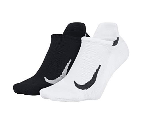 Nike Multiplier No-Show - Calcetines (2 unidades), Todo el año, Hombre, color multicolor, tamaño 98