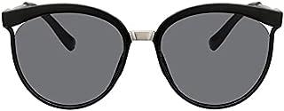 Black Cat Eye Sunglasses Women Luxury Eyewear Black Retro Female Sunglass Mirror Round Cateye Glasses For Woman