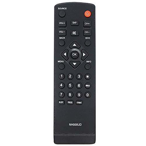 New Replaced Nh000UD Nh001UD Remote fit for Emerson Sylvania Lc260em2 Lc320em2 Rlc320em1 Lc220em1 Rlc220em1 Lc401em3f Lc320em3f Rlc370em2 Lc370em2 Rlc320em2f Rlc320em2 Lc401em2f Lc401em2 Lc320em2f