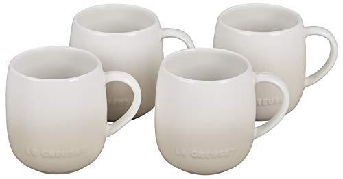 Le Creuset Stoneware Set of 4 Heritage Mugs