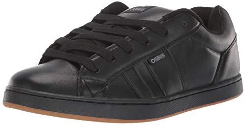 Osiris Herren Loot Skateboard-Schuh, Schwarz (schwarz/grau), 43 EU