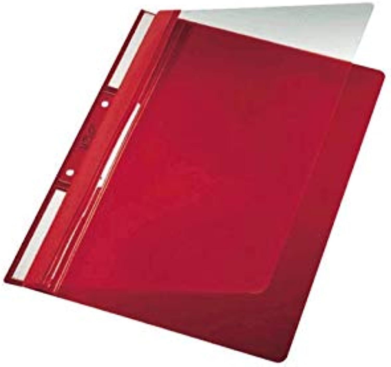 """Leitz Leitz Leitz Einh""""ngehefter Universal, A4, 2 kurze Beschriftungsfenster, PVC, rot B01EFL4NF2   Tragen-wider  a9e6ee"""