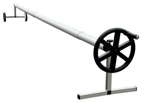 Zelsius - Fahrbares Edelstahl Aufrollsystem, für Solar und Pool Planen und Abdeckungen von 300 bis 570 cm