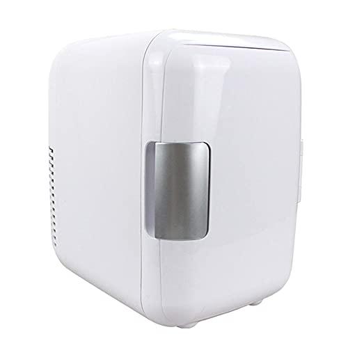 H.Slay Mini Nevera 4L para Bebidas, Nevera para Coche, más pequeña para Habitaciones, minibar, Nevera para Bebidas, para Encendedor de Cigarrillos, automático
