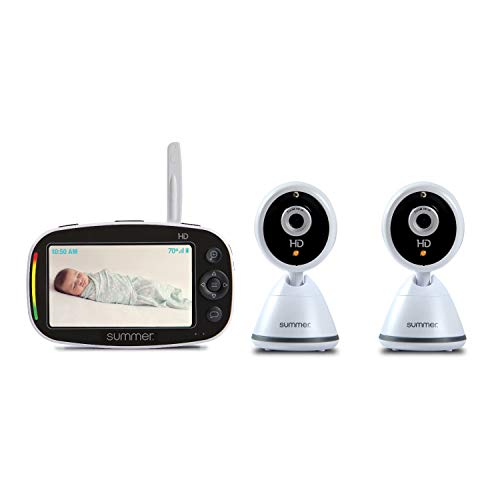 Summer Baby Pixel Zoom HD Video Baby Monitor with 2 Cameras -  Summer Infant