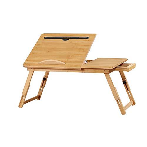 QJJ Beliebt Faltbare Schreibtisch Bett Lazy Desk Einstellbar Heben Laptoptisch Kleine Schreibtische in College Schlafsaal Kinder Erhöhter Lernen Schreibtisch Einen Kauf wert