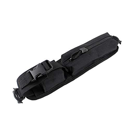 Sevenfly Outdoor Sports Tactical Rucksack Umhängetasche Notfall Survival Gear Gürteltasche, schwarz