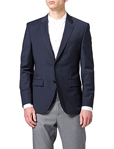 HUGO Jefferym204x Blazer para Hombre, Azul (Dark Blue 405), 102