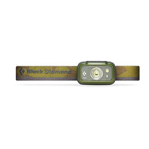 Black Diamond Cosmo Linterna Frontal, Unisex-Adult, Verde Oscuro, One Size