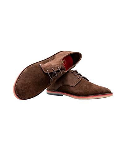 Zapato Guerrero Ante Marrón