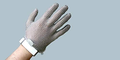 Stahlnetz Stechschutzhandschuh PROTEC nach EN 1082, Größe L
