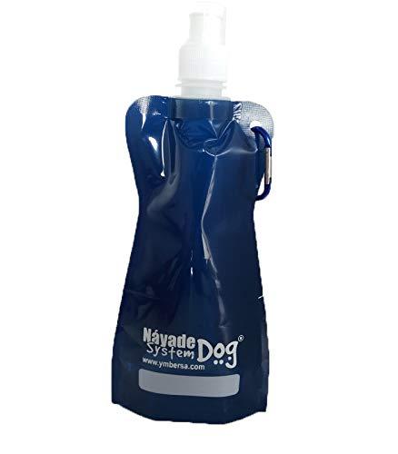 YMBERSA Náyade System Flex Bottle tapón Sport 420 ml. Color Azul