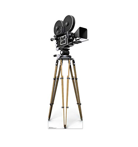 Advanced Graphics Hollywood Camera Life Size Cardboard Cutout Standup