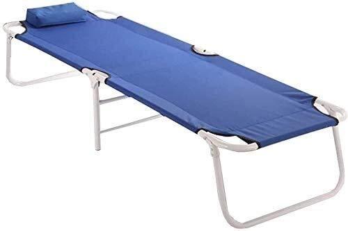 Alvnd Cero gravedad camilla salones patio tumbona tumbonas al aire libre tumbonas jardín sillas de jardín sofá cama plegable, home recliner oficina sábana cama multifuncional simple siesta cama portát