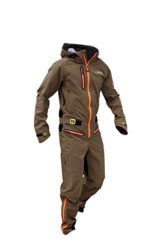dirtlej dirtsuit core Edition Men der Dreckwetteranzug für alle Biker im Park, Homezone oder Trail, Sand/orange (XXL)