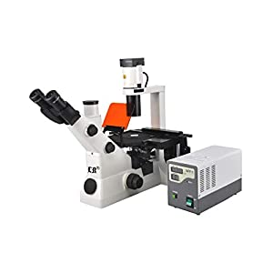 Labomed LB-705 Trinocular Inverted Flourescent Biological Microscope with Wide Field and Infinite...