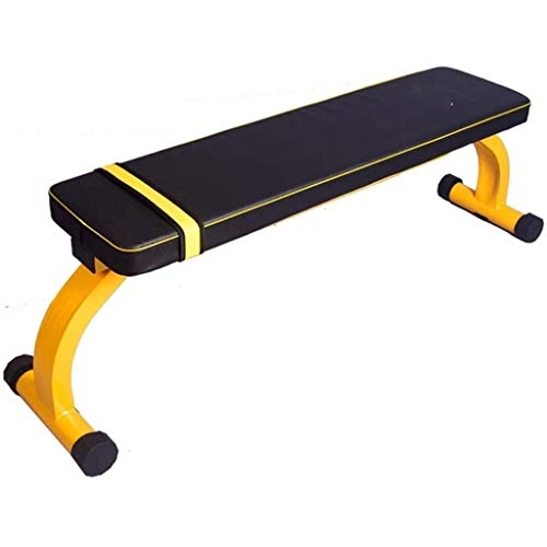 CHHCYH Flat Bench Workout Exercise Weightlifting Training Equipment Weight Bench for Home Gym Fitness