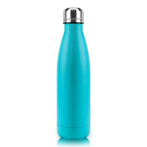 Monkey's King Trinkflasche Vacuum Isolierte Wasserflasche & Vacuum Flask Doppelwandige Isolierflasche, Auslaufsicher 12 Stunden heiß / 24 Stunden 500ml …
