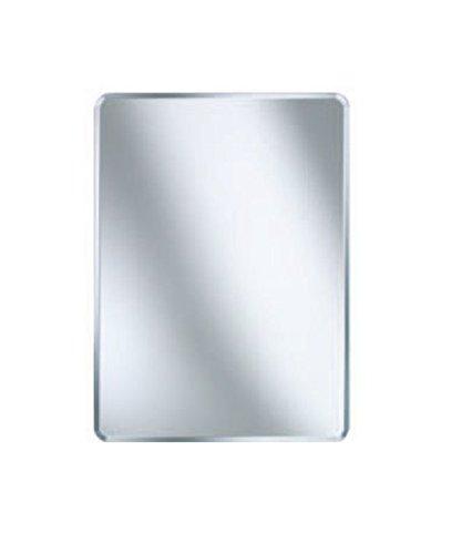 Design Badezimmerspiegel / Gardarobenspiegel eckig 600x450 mm