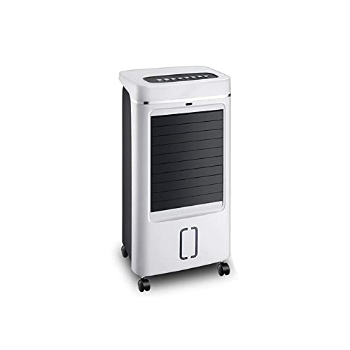 L-YINGZON Humidificador El aire más fresco, Acondicionador de aire refrigeración del pequeño ventilador ventilador de humidificación de aire más frío en movimiento de aire acondicionado (Color: A, Tam