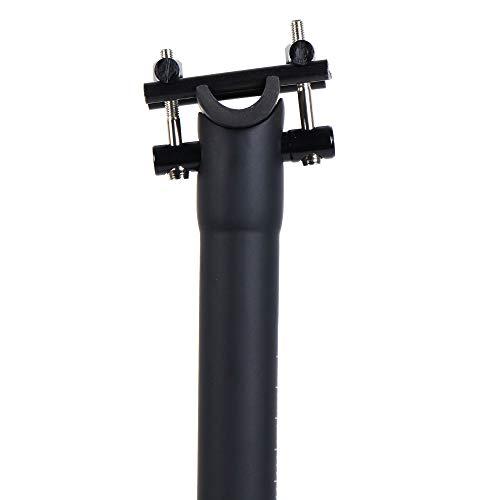 LRG Tija de Sillín Bicicleta Fibra de Carbono MTB Bicicleta de Carretera 30.8mm